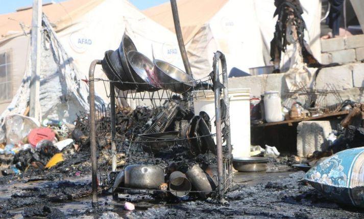 حريق خيمة يودي بحياة طفل شمال إدلب